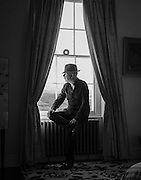 Alan McGee at his home in Mid Wales - 2013