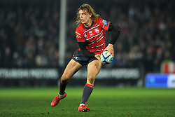 Billy Twelvetrees of Gloucester Rugby in action- Mandatory by-line: Nizaam Jones/JMP - 22/02/2019 - RUGBY - Kingsholm - Gloucester, England- Gloucester Rugby v Saracens - Gallagher Premiership Rugby