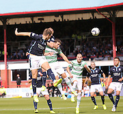 James McPake heads Dundee ahead - Dundee v Celtic SPFL Premiership at Dens Park<br /> <br />  - &copy; David Young - www.davidyoungphoto.co.uk - email: davidyoungphoto@gmail.com