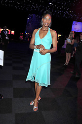 Athlete DENISE LEWIS at The Butterfly Ball in aid of the Caudwell Children Charity held in Battersea park, London on 14th May 2009.