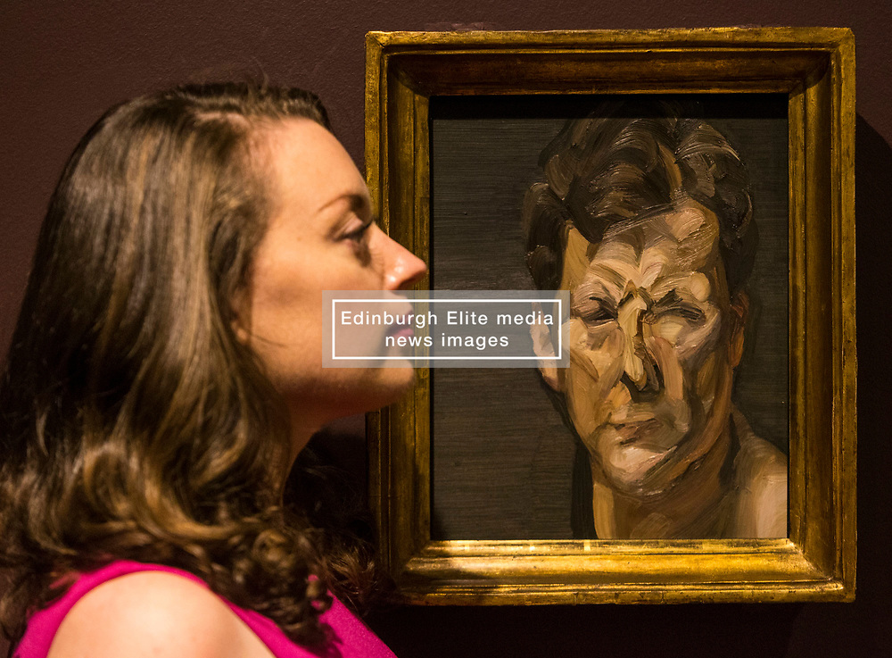 'Looking good: the male gaze from Van Dyck to Lucian Freud' showcases the evolution of men's fashion and masculine identity over 500 years.<br /> <br /> The exhibition at the Scottish National Portrait Gallery runs from 24 June to 1 October 2017 and looks at the evolution of men's fashion, masculine identity and the male self-image over the last 500 years.<br /> <br /> Pictured: Mans Head (Self Portrait III) by Lucian Freud, 1963