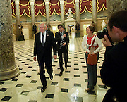 Mar 21,2010 - Washington, District of Columbia USA - .Washington, D.C..Majority Leader Steny Hoyer makes his way to the House Chamber before the historic vote on Healthcare late Sunday night..(Credit Image: © Pete Marovich/ZUMA Press)