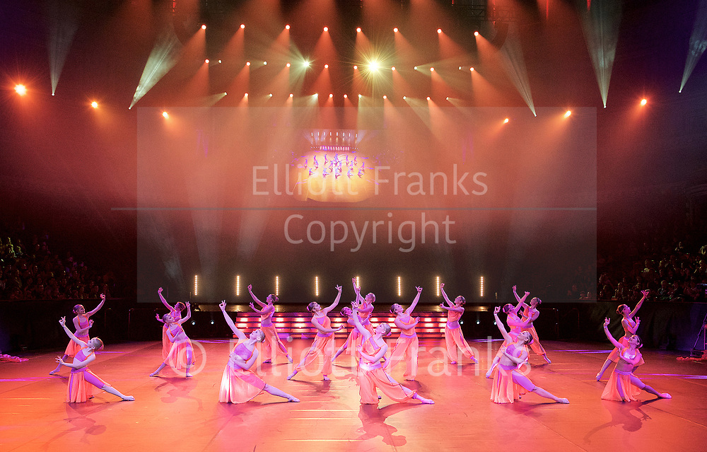 Dancing World Tanzschule Alexander Kreissl (Austria) at Dance Proms 2017<br /> at The Royal Albert Hall, London, Great Britain <br /> Sunday 5th November 2017 <br /> Dance Proms is a unique collaborative project between two of the world's leading dance training and awarding bodies, the Imperial Society of Teachers of Dancing (ISTD), and the Royal Academy of Dance (RAD), with the Royal Albert Hall.<br /> <br /> Photography by Elliott Franks
