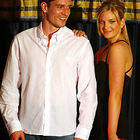 Jim Weir Testimonial Fashion Show...18.03.04<br />Paul Bernard<br />Picture by Graeme Hart.<br />Copyright Perthshire Picture Agency<br />Tel: 01738 623350  Mobile: 07990 594431