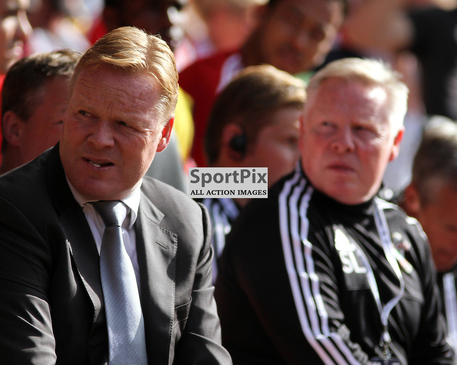 Ronald Koeman During Southampton vs Swansea on Saturday 26th September 2015.