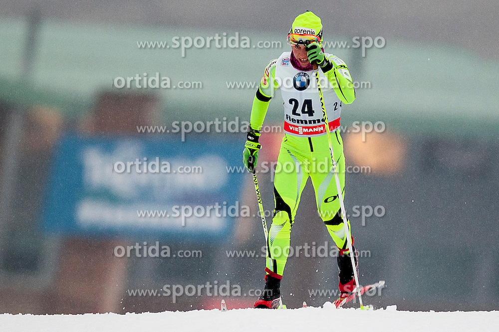 Barbara Jezersek of Slovenia during Womens 5km Classic individual start of the Tour de Ski 2014 of the FIS cross country World cup on January 4th, 2014 in Cross Country Centre Lago di Tesero, Val di Fiemme, Italy. (Photo by Urban Urbanc / Sportida)