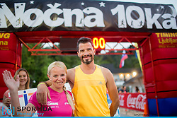 Tit Kosir at 10th Nocna 10ka 2016, traditional run around Bled's lake, on July 09, 2016 in Bled,  Slovenia. Photo by Urban Urbanc / Sportida