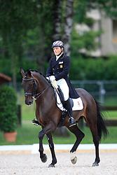 Cerrillo Sopena Luis (ESP) - Saturday Night Fever<br /> FEI European Dressage Championship Young Riders - Bern 2012<br /> © Hippo Foto - Leanjo de Koster