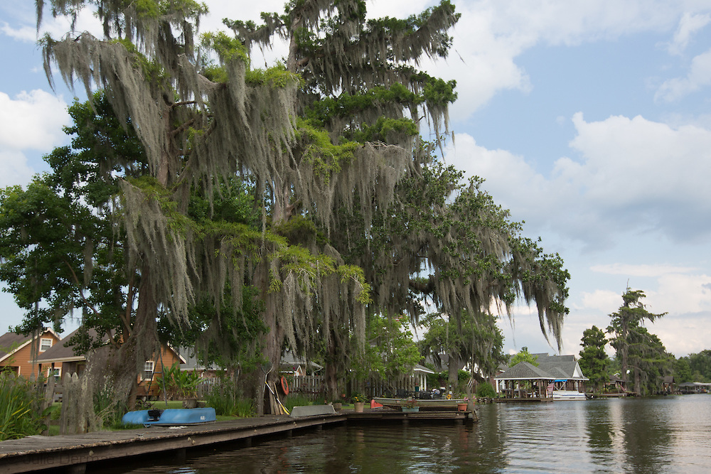 July 3, 2013, Bayou Corne Louisiana, the picturesque community under mandatory evacuation since Texas Brine's actions caused a sinkhole to open up while mining a salt cavern.  The fate of the community and environmental implications of the sinkhole have yet to be determined.