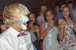 guests at a party having a great time together