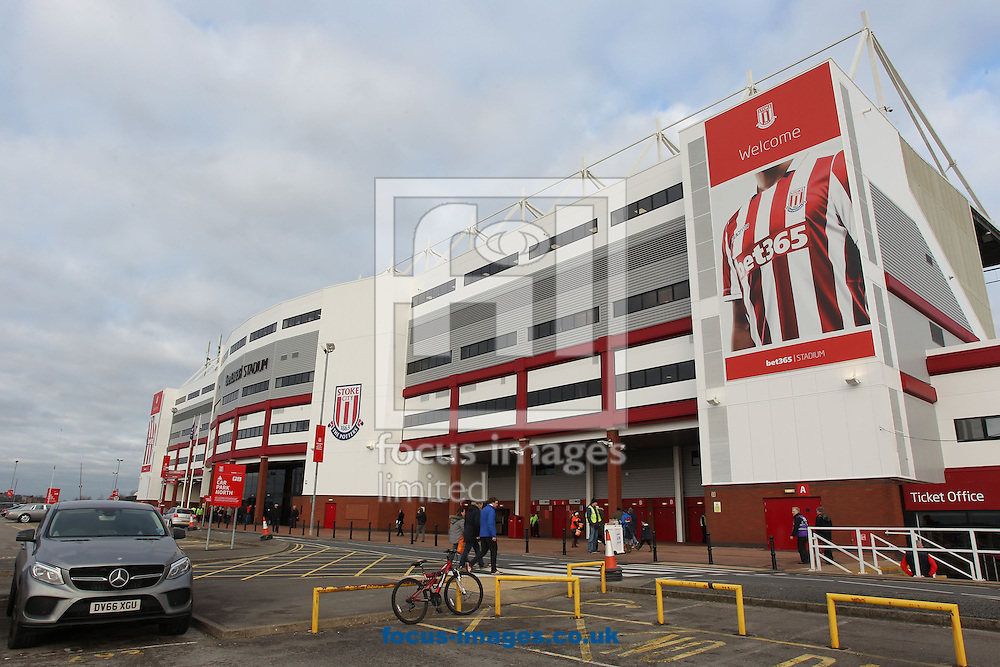 General view of the Bet 365 Stadium prior to the Premier League match between Stoke City and Burnley, Stoke-on-Trent.<br /> Picture by Michael Sedgwick/Focus Images Ltd +44 7900 363072<br /> 03/12/2016
