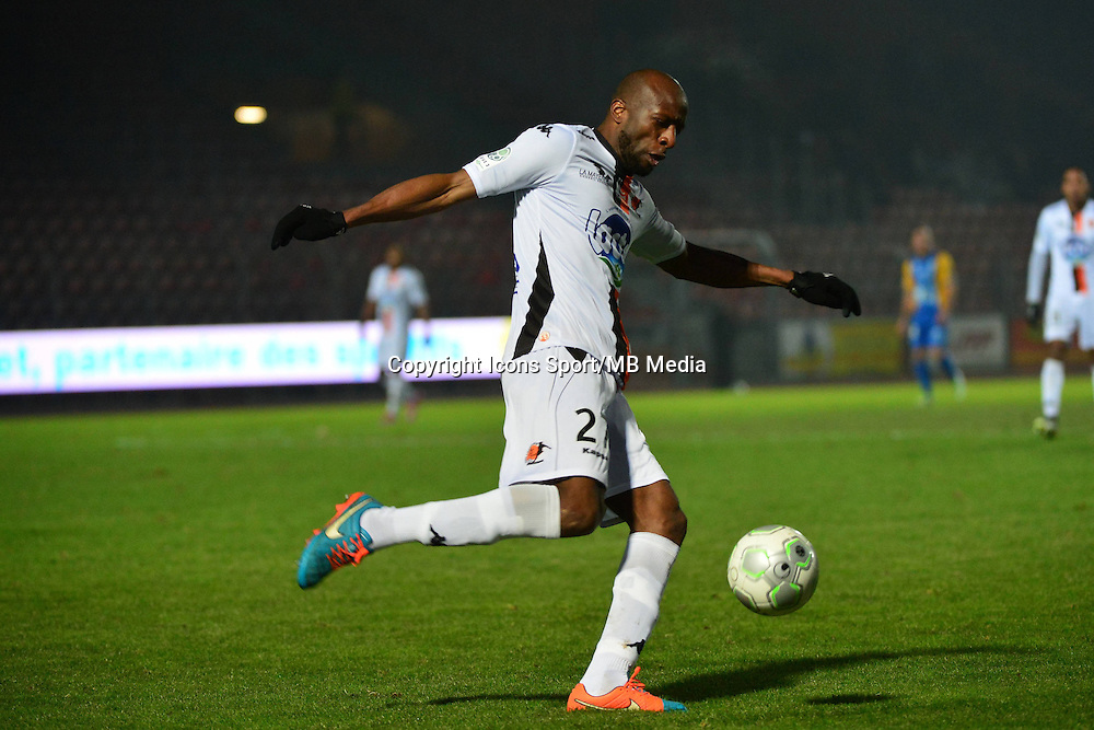 Djibril KONATE - 23.01.2015 - Creteil / Laval - 21eme journee de Ligue 2<br /> Photo : Dave Winter / Icon Sport