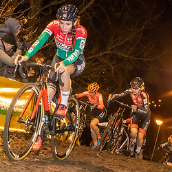 2019-12-29: Cycling: Superprestige: Diegem: Hungarian national champion Kata Blanca Vas