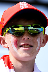 England fans - Mandatory by-line: Robbie Stephenson/JMP - 18/06/2019 - CRICKET- Old Trafford - Manchester, England - England v Afghanistan - ICC Cricket World Cup 2019 group stage