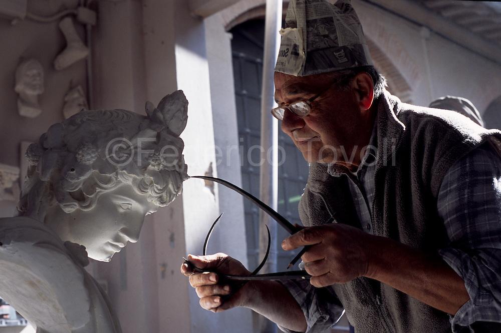 Marble handworker.