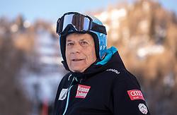 12.01.2020, Keelberloch Rennstrecke, Altenmark, AUT, FIS Weltcup Ski Alpin, Alpine Kombination, Slalom, Damen, im Bild Prof. Peter Schröcksnadel (ÖSV Präsident) // Peter Schroecksnadel Austrian Ski Association President during the women's Alpine combined Slalom competition for the FIS ski alpine world cup at the Keelberloch Rennstrecke in Altenmark, Austria on 2020/01/12. EXPA Pictures © 2020, PhotoCredit: EXPA/ Johann Groder