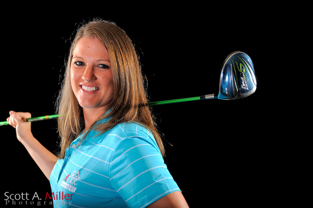 Lauren Hunt during a portrait shoot prior to the LPGA Future Tour's Daytona Beach Invitational at LPGA International's Championship Courser on March 28, 2011 in Daytona Beach, Florida... ©2011 Scott A. Miller