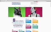 Retratos Mascotas y Dueños para campaña gubernamental sobre la tenencia responsable de mascotas www.incondicionales.cl