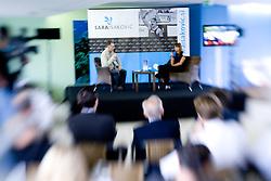 Igor E. Bergant at Press conference of Slovenian swimmer Sara Isakovic, on June 23, 2009, in Atlantis, BTC, Ljubljana, Slovenia. (Photo by Vid Ponikvar / Sportida)