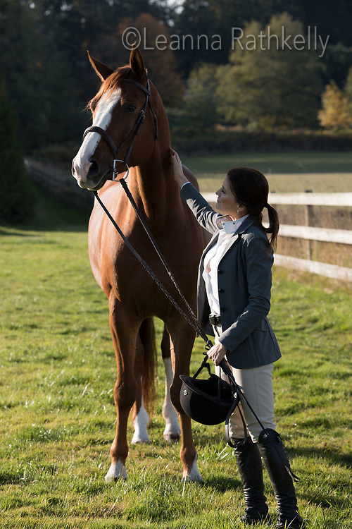 Lisa Williams, a real estate agent in Victoria, BC, is an equestrian rider in her spare time and loves spending time with her horse at Lochside Lanes Stables on the Saanich Penninsula.