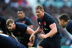 Dylan Hartley of England - Mandatory byline: Patrick Khachfe/JMP - 07966 386802 - 26/11/2016 - RUGBY UNION - Twickenham Stadium - London, England - England v Argentina - Old Mutual Wealth Series.