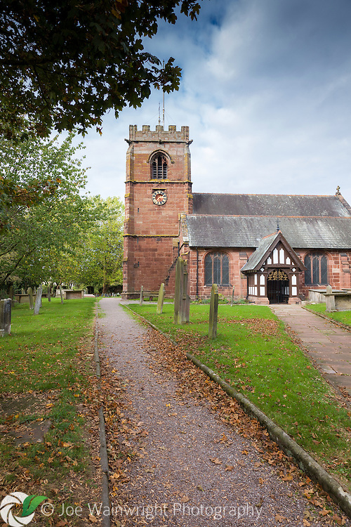 With a tower dating from the 16th century and the rest of the building from the 19th, St. Alban's Church is located in Tattenhall; a Cheshire village which is known to have existed at the time of the Domesday Book, in 1086.