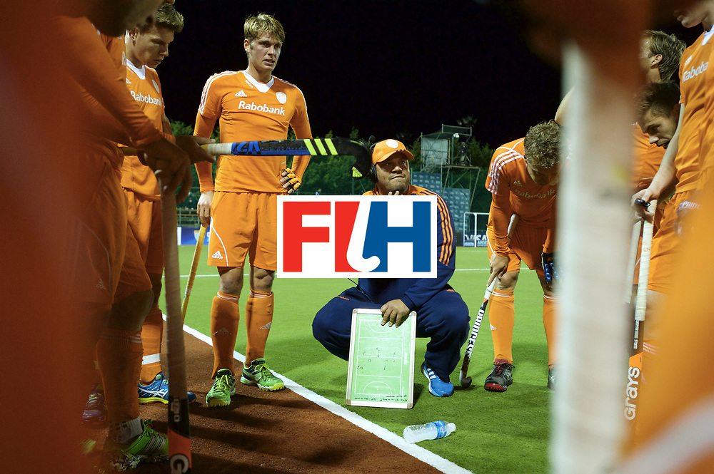 BUENOS AIRES - Hock World League Semi Final Men<br /> 28 NED v GER (SF 1)<br /> Germany qualify for the Olympics in Rio<br /> Foto: Max Caldas<br /> FFU PRESS AGENCY COPYRIGHT FRANK UIJLENBROEK