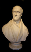 Sir Francis Chantrey (1781-1841) Bust of William Stuart, Archbishop of Armagh, signed and dated 1828.  William Stuart died in 1822 and two years later his son commissioned this classically influenced bust.  It is a good example of Chantrey's skill in carv