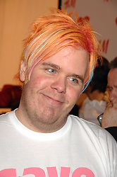 PEREZ HILTON at a party to celebrate the opening of the new H&M store at 234 Regent Street, London on 13th February 2008.<br /><br />NON EXCLUSIVE - WORLD RIGHTS