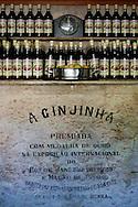 The Ginjinha or A Ginjinha Espinheira, at Largo São Domingos, in Rossio in Lisbon. November 17, 201