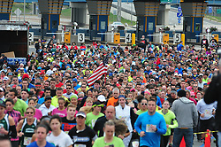 the swear four thousand runners and walkers are participating in the event. (Bastiaan Slabbers/for PhillyVoice)