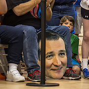 TOWSON, MD- APR18: Supporters of presidential candidateTed Cruz at a rally in Townson, Maryland, April 18, 2016, at the American Legion Post 22. (Photo by Evelyn Hockstein/For The Washington Post)