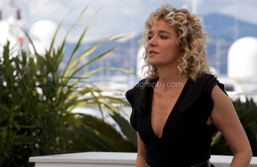 Actress, Valéria Golino at the Portrait of a Lady on Fire (Portrait De La Jeune Fille En Feu) photocall, at the 72nd Cannes Film Festival Monday 20th May 2019, Cannes, France. Photo credit: Doreen Kennedy