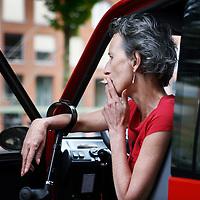Nederland, Amsterdam , 30 mei 2012..Karin Spaink (Amsterdam, 20 december 1957) is een Nederlands columniste, essayiste, publiciste, schrijfster en feministe..Foto:Jean-Pierre Jans