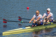 Sarasota. Florida USA. NOR M2X. Bow. Kjetil<br /> BORCH and Olaf<br /> TUFTE. Move  away from the start pontoon.  2017 World Rowing Championships, Nathan Benderson Park<br /> <br /> Wednesday  27.09.17   <br /> <br /> [Mandatory Credit. Peter SPURRIER/Intersport Images].<br /> <br /> <br /> NIKON CORPORATION -  NIKON D4S  lens  VR 500mm f/4G IF-ED mm. 200 ISO 1/1250/sec. f 6.3