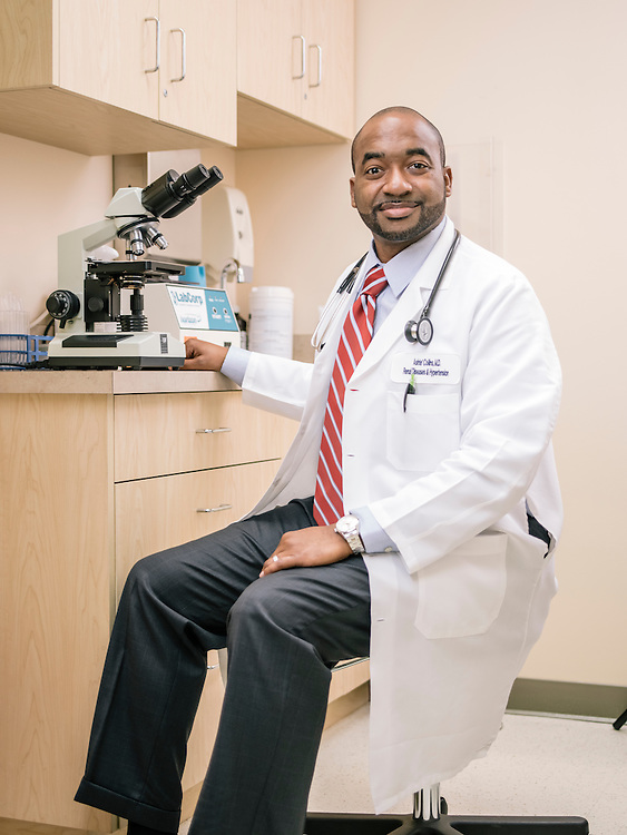 Ashte Collins, nephrology