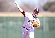 February 13, 2015: The West Texas A&M University Buffs play against the Oklahoma Christian University Eagles at Dobson Field on the campus of Oklahoma Christian University.