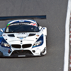 Barwell Motorsport, Ron Johnson & Piers Johnson, BMW Z4 GT3, GT3 during qualifying and practice at the first round of the Avon Tyres British GT Championship held at Oulton Park, Cheshire, UK on the 30th March 2013 WAYNE NEAL | STOCKPIX.EU