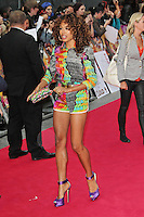 LONDON - JULY 03: Jade Ewen attended the European Film Premiere of 'Katy Perry: Part Of Me' at the Empire Cinema, Leicester Square, London, UK. July 03, 2012. (Photo by Richard Goldschmidt)