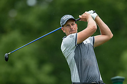 May 30, 2019 - Dublin, OH, U.S. - DUBLIN, OH - MAY 30: Henrik Stenson of Sweden plays his shot from the 18th tee during the Memorial Tournament presented by Nationwide at Muirfield Village Golf Club on May 30, 2018 in Dublin, Ohio. (Photo by Adam Lacy/Icon Sportswire) (Credit Image: © Adam Lacy/Icon SMI via ZUMA Press)