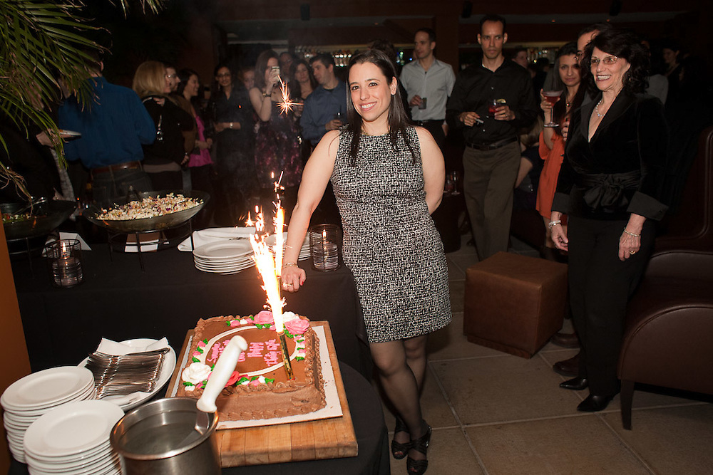 Samara Churgin's 35th birthday party held at the Empire Hotel in New York City on March 26, 2011.