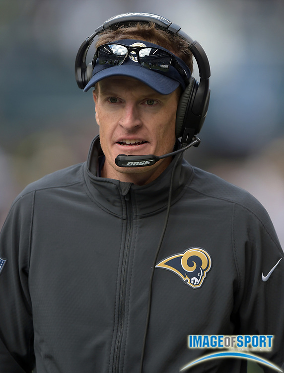 Dec 28, 2014; Seattle, WA, USA; St. Louis Rams special teams coordinator John Fassel reacts against the Seattle Seahawks at CenturyLink Field. Mandatory Credit: Kirby Lee-USA TODAY Sports