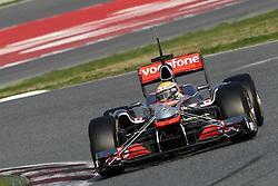 09.03.2011, Circuit de Catalunya, Barcelona, ESP, Formel 1 Test 4 2011,  im Bild Lewis Hamilton (GBR), McLaren F1 Team .EXPA Pictures © 2011, PhotoCredit: EXPA/ nph/  Poleposition.at       ****** only for AUT ans SLO *******