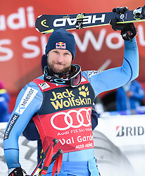 17.12.2016, Saslong, St. Christina, ITA, FIS Ski Weltcup, Groeden, Abfahrt, Herren, Siegerehrung, im Bild Aksel Lund Svindal (NOR, 2. Platz) // second Placed Aksel Lund Svindal of Norway during the winner Ceremony for the men's downhill of FIS Ski Alpine World Cup Saslong race course in St. Christina, Italy on 2016/12/17. EXPA Pictures © 2016, PhotoCredit: EXPA/ Erich Spiess