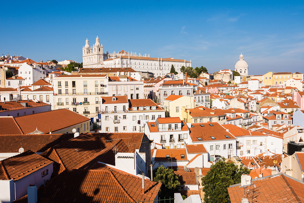 View from Portas do Sol, Lisbon, Portugal
