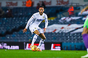 Lewis Baker of Leeds United (34) shapes to shoot during the EFL Sky Bet Championship match between Leeds United and Bristol City at Elland Road, Leeds, England on 24 November 2018.
