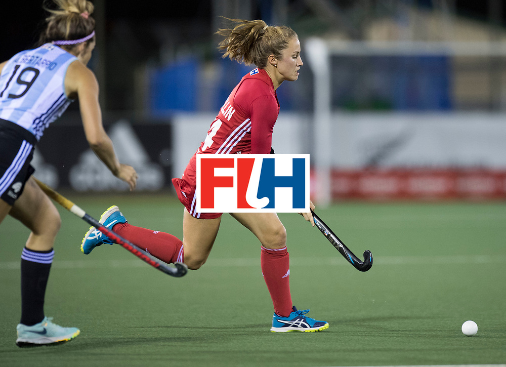 AUCKLAND - Sentinel Hockey World League final women<br /> Match id 10298<br /> 08 Argentina v England 1-0<br /> Foto: Shona Mccallin <br /> WORLDSPORTPICS COPYRIGHT FRANK UIJLENBROEK