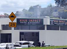 Tauranga-Auto painters fire in Tauranga
