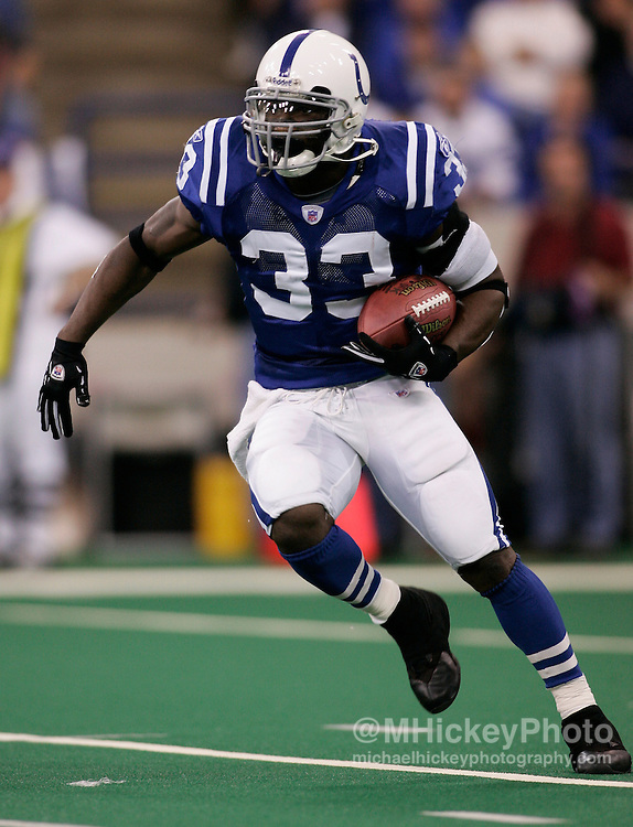 Indianapolis Colts running back Dominic Rhodes.