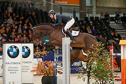 Knape Niels, NED, Dynamo<br /> KWPN Stallionshow - 's Hertogenbosch 2018<br /> © Hippo Foto - Dirk Caremans<br /> 01/02/2018